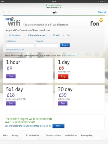 Free WIFI access from Fon; Free WIFI access from Fon sum up,if you do a search for available wifi networks around you at home and one of them ends with the word