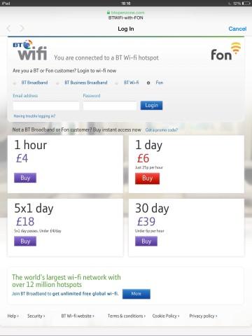 FREE BT Wi-fi app