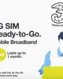 Three 1GB PAYG SIM – All EU Countries £10 for 1GB