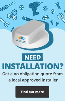 Need Installation? - Get a no obligation quote from a local approved installer