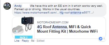 Testimonials, Reviews & Customer Stories   Motorhome WiFi