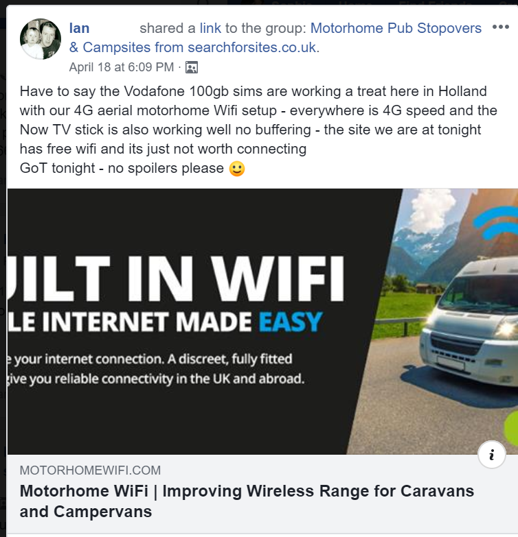 Honesty 4g Lte Mimo Roof Mounted Antenna And Huawei B315 Wireless Hotspot Motorhomes. Computers/tablets & Networking