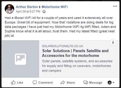 Testimonials, Reviews & Customer Stories | Motorhome WiFi